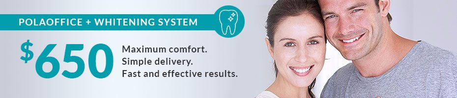 polaoffice teeth whitening offer at robina town denal